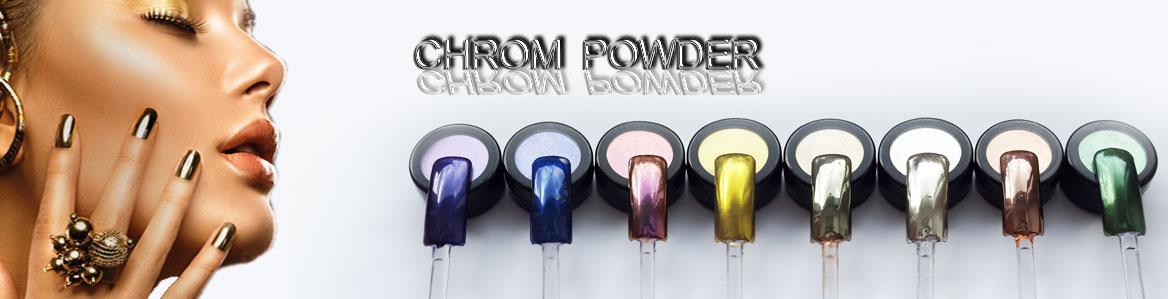 chrom kupfer pulver pigmente mirror effekt nails spiegeleffekt chromn gel ebay. Black Bedroom Furniture Sets. Home Design Ideas